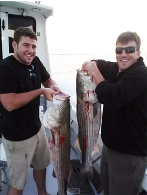 Montauk Stripers