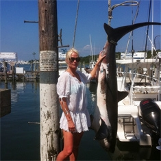 Montauk Sport Fishing Shark
