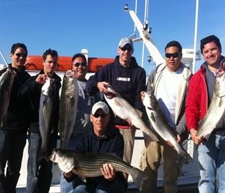 striped bass fishing in montauk
